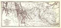 1814 Lewis and Clark Trail Map